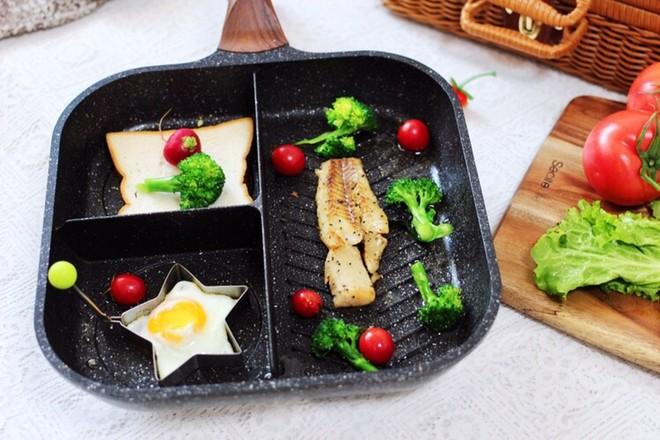 开放式鳕鱼鸡蛋三明治怎么煸