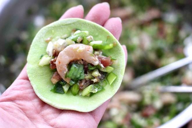 韭菜虾仁翡翠饺子怎样做