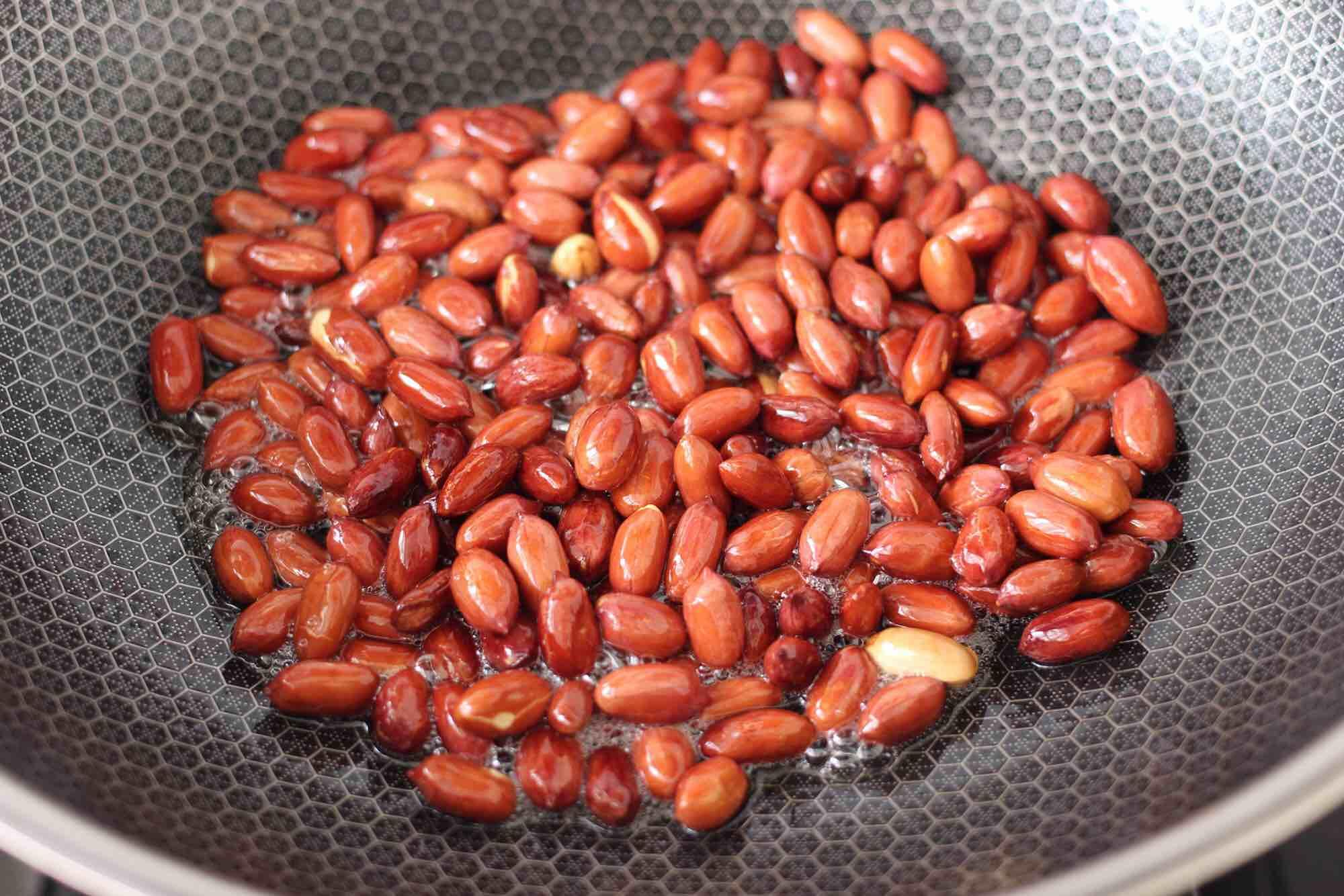 时蔬拌花生米怎么吃