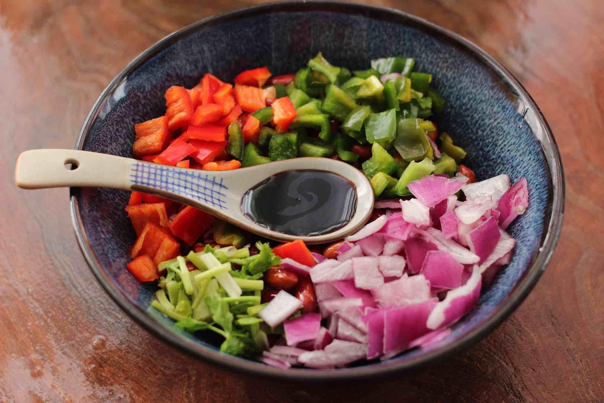 时蔬拌花生米怎么煮