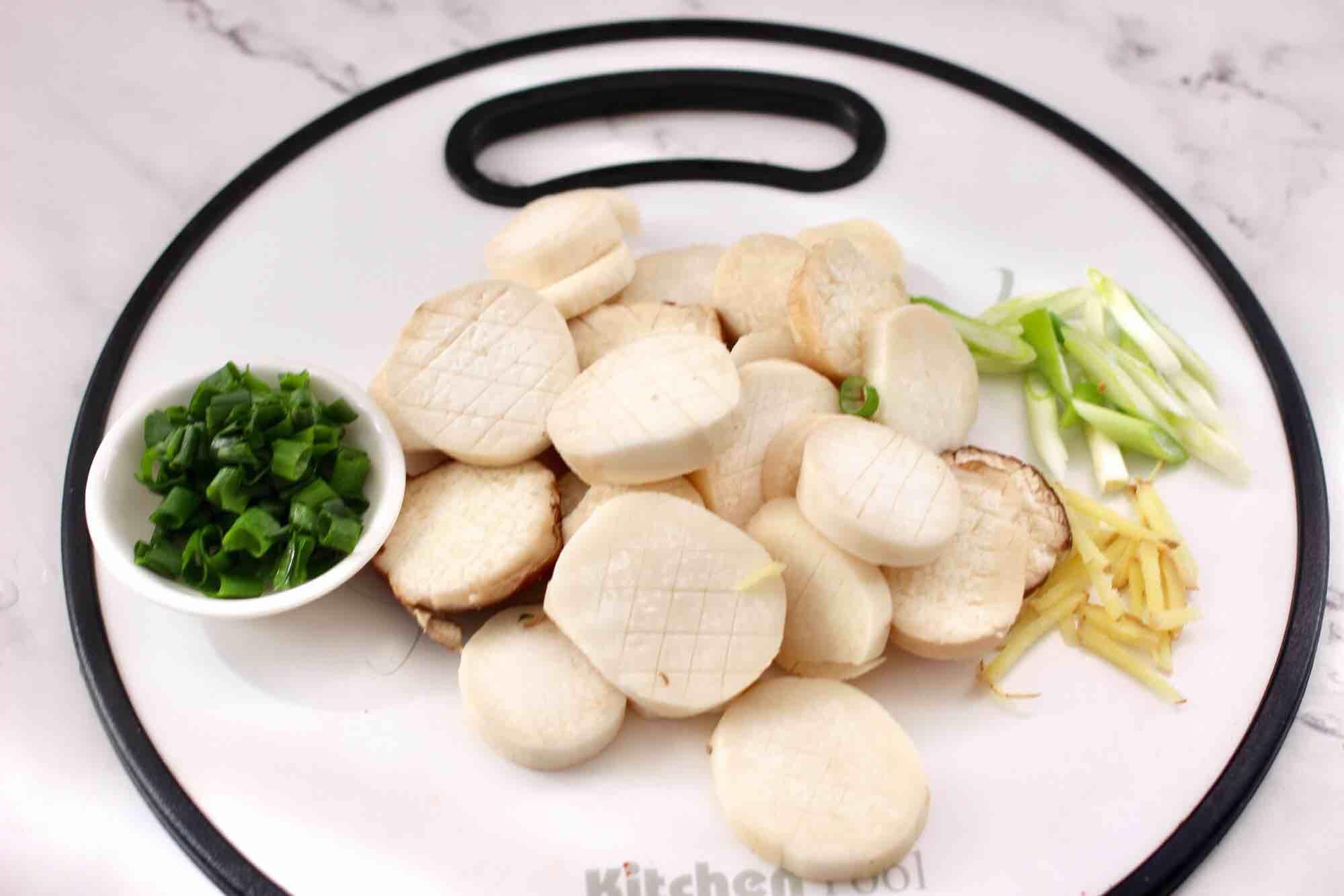 杏鲍菇扇贝花肉煲的做法图解