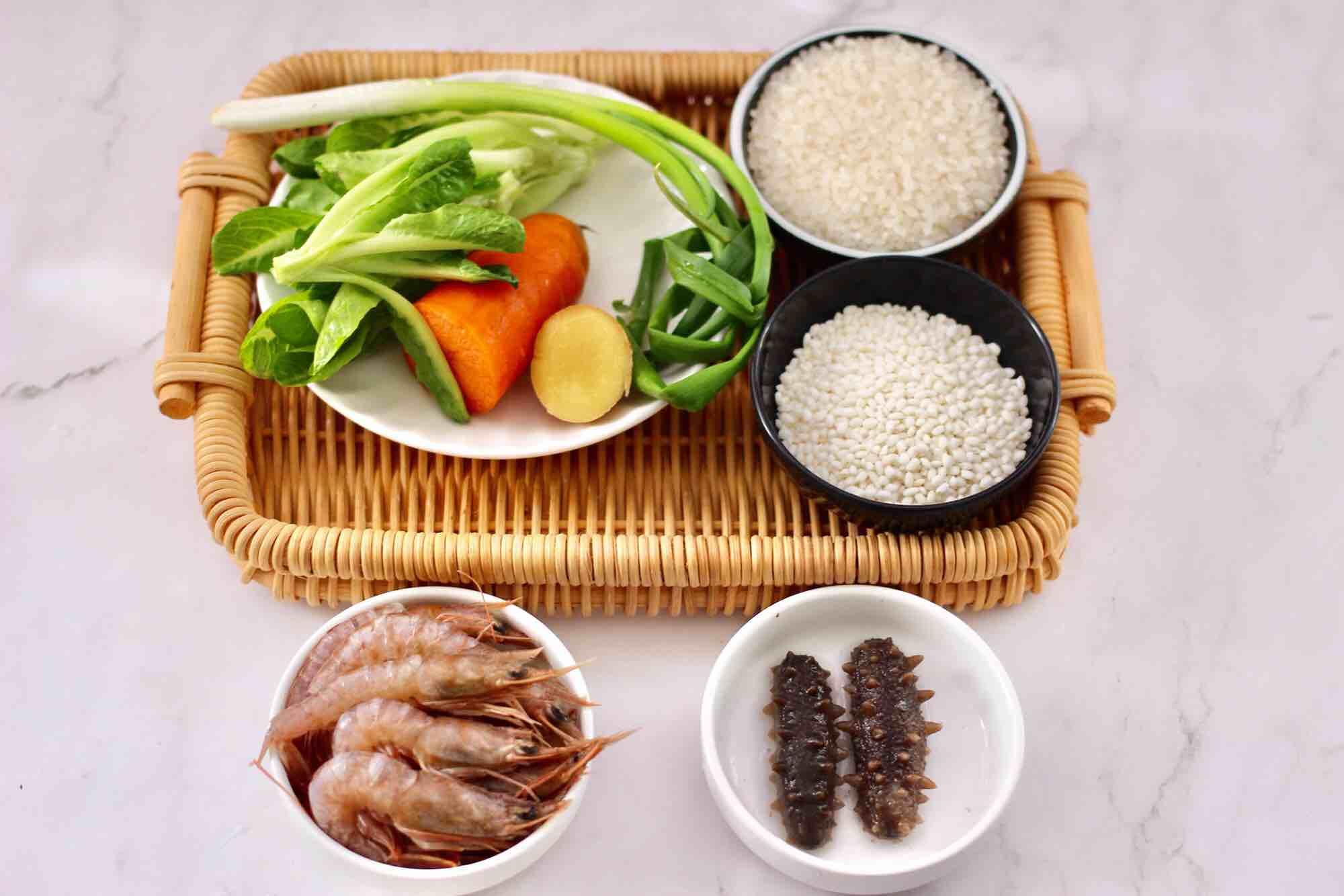 鲜虾海参砂锅粥的做法大全