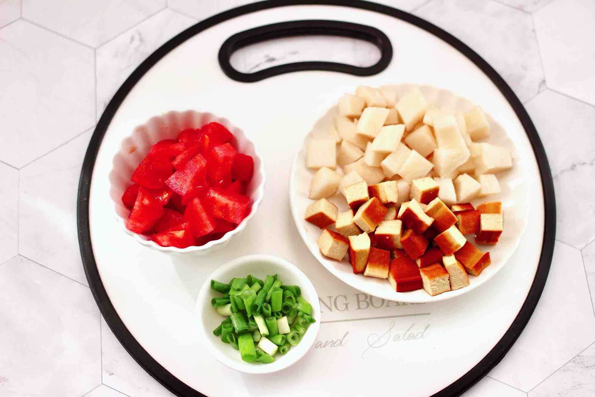 鹅蛋番茄时蔬彩色贝壳面的做法图解