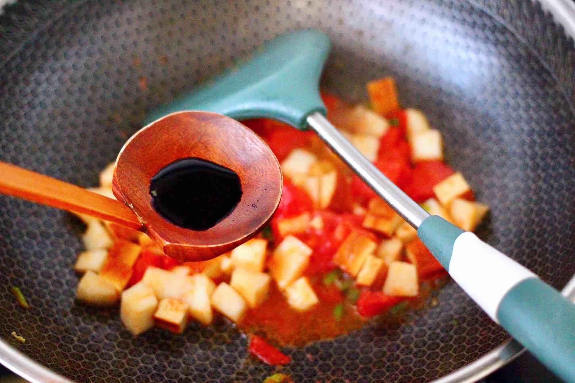 鹅蛋番茄时蔬彩色贝壳面怎么吃