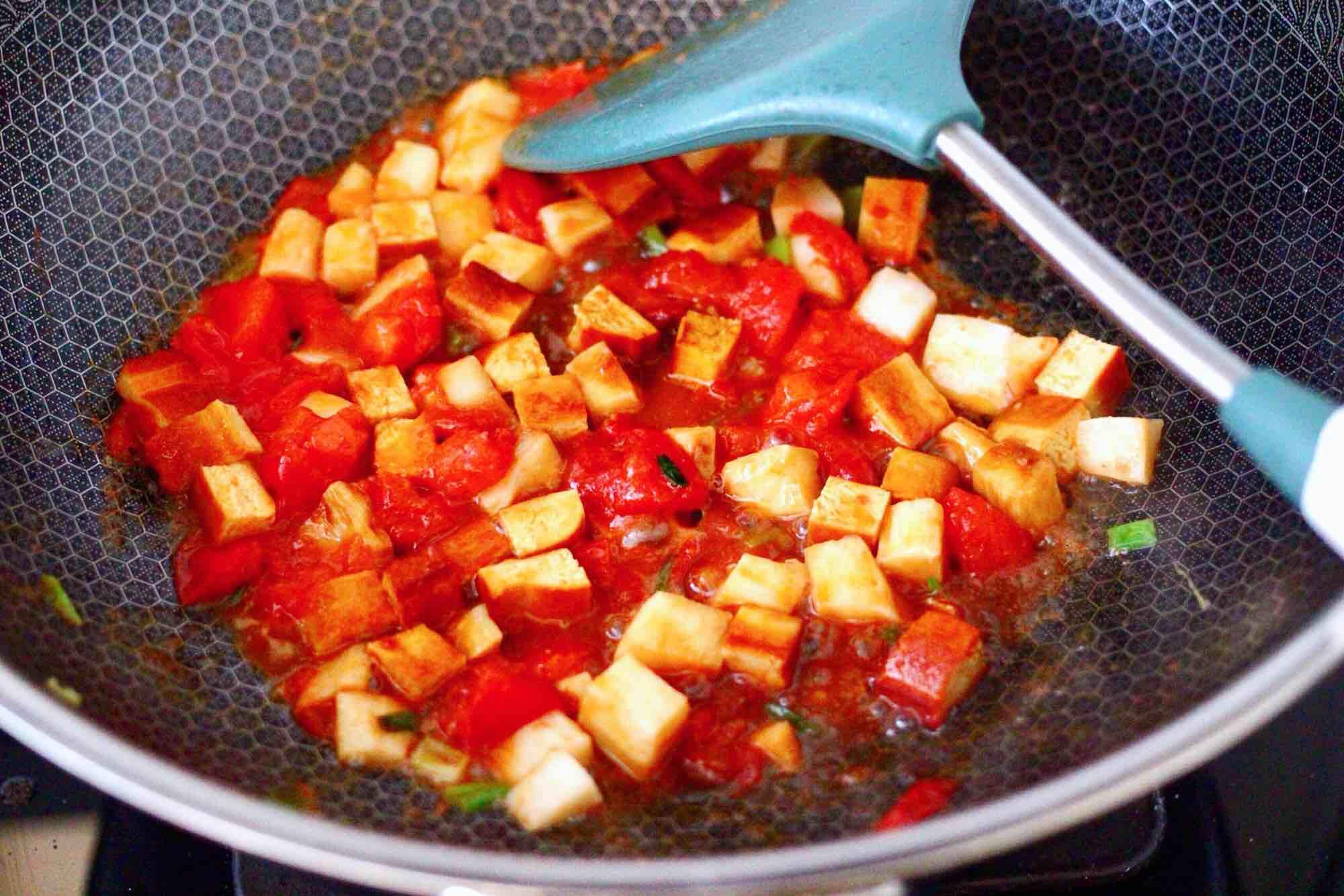 鹅蛋番茄时蔬彩色贝壳面怎么做