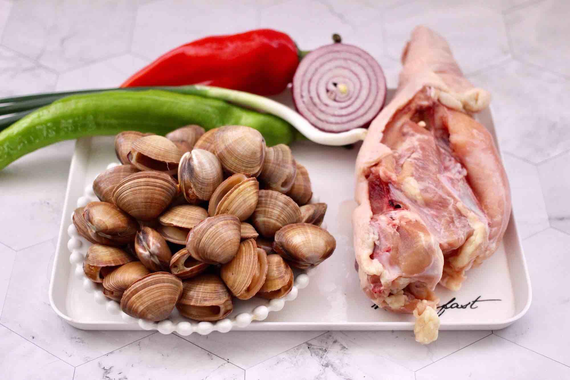 鸡焖蛤的做法大全