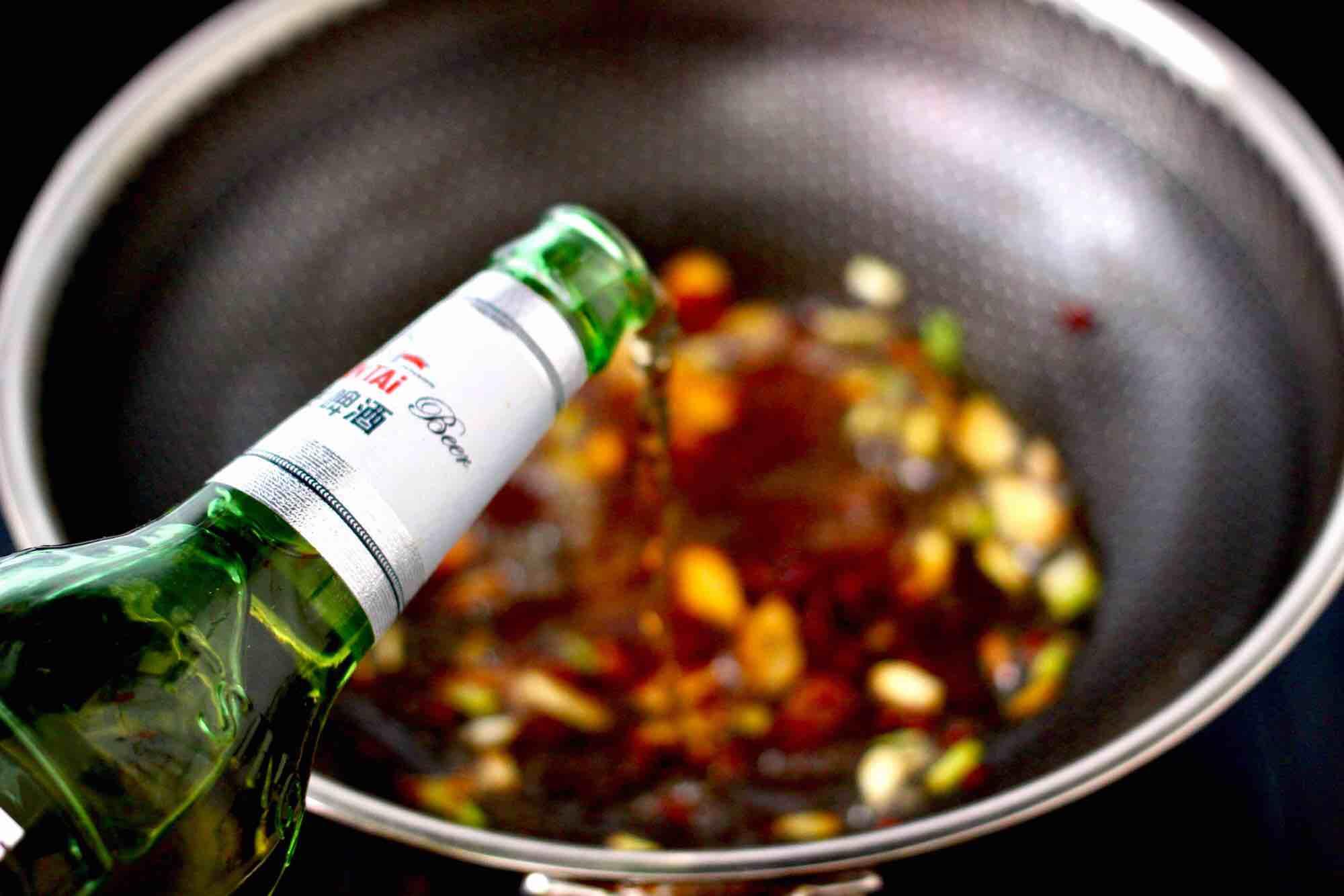 海杂鱼酱焖冻豆腐怎么炒