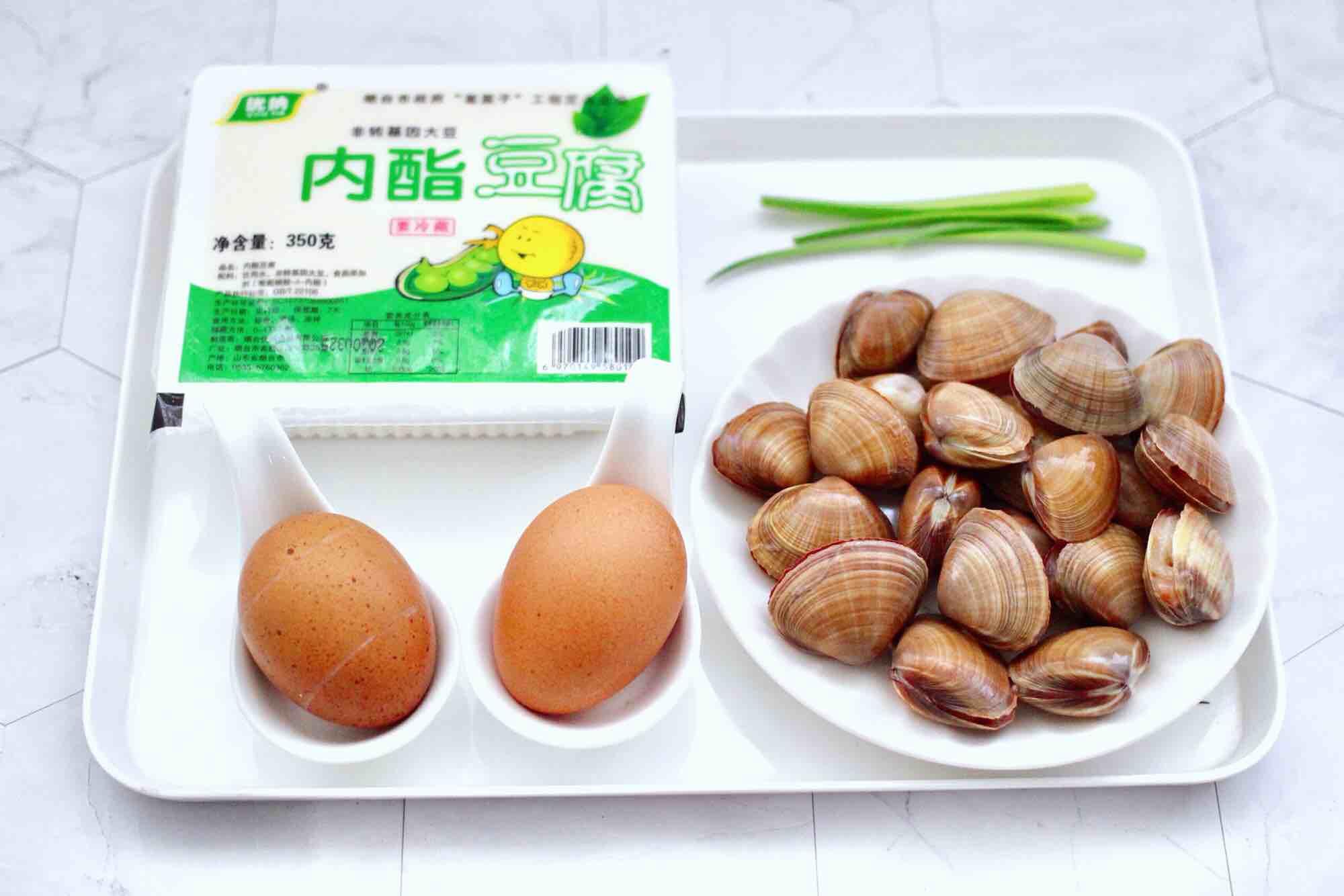飞蛤豆腐鸡蛋羹的做法大全