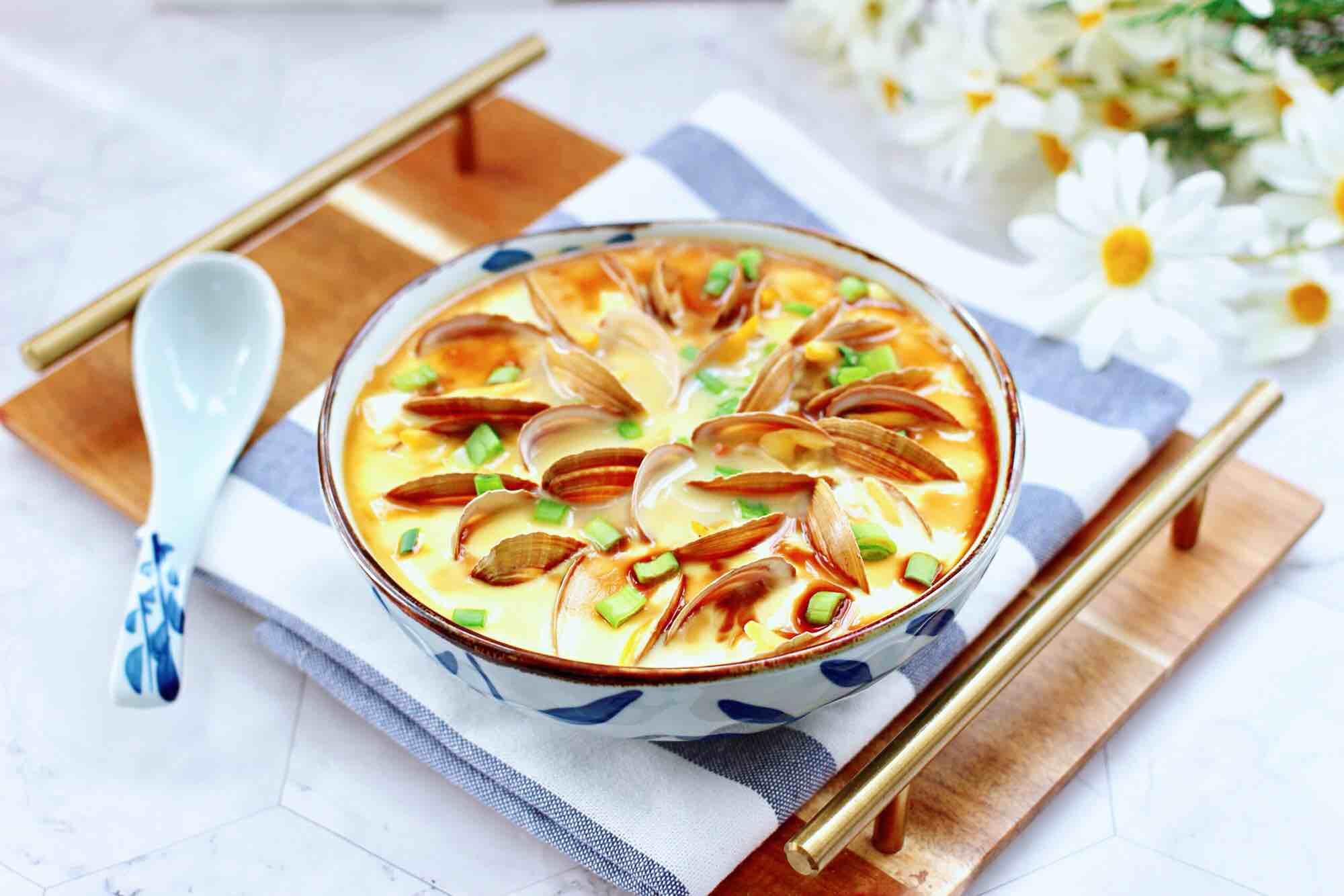 飞蛤豆腐鸡蛋羹怎样煸