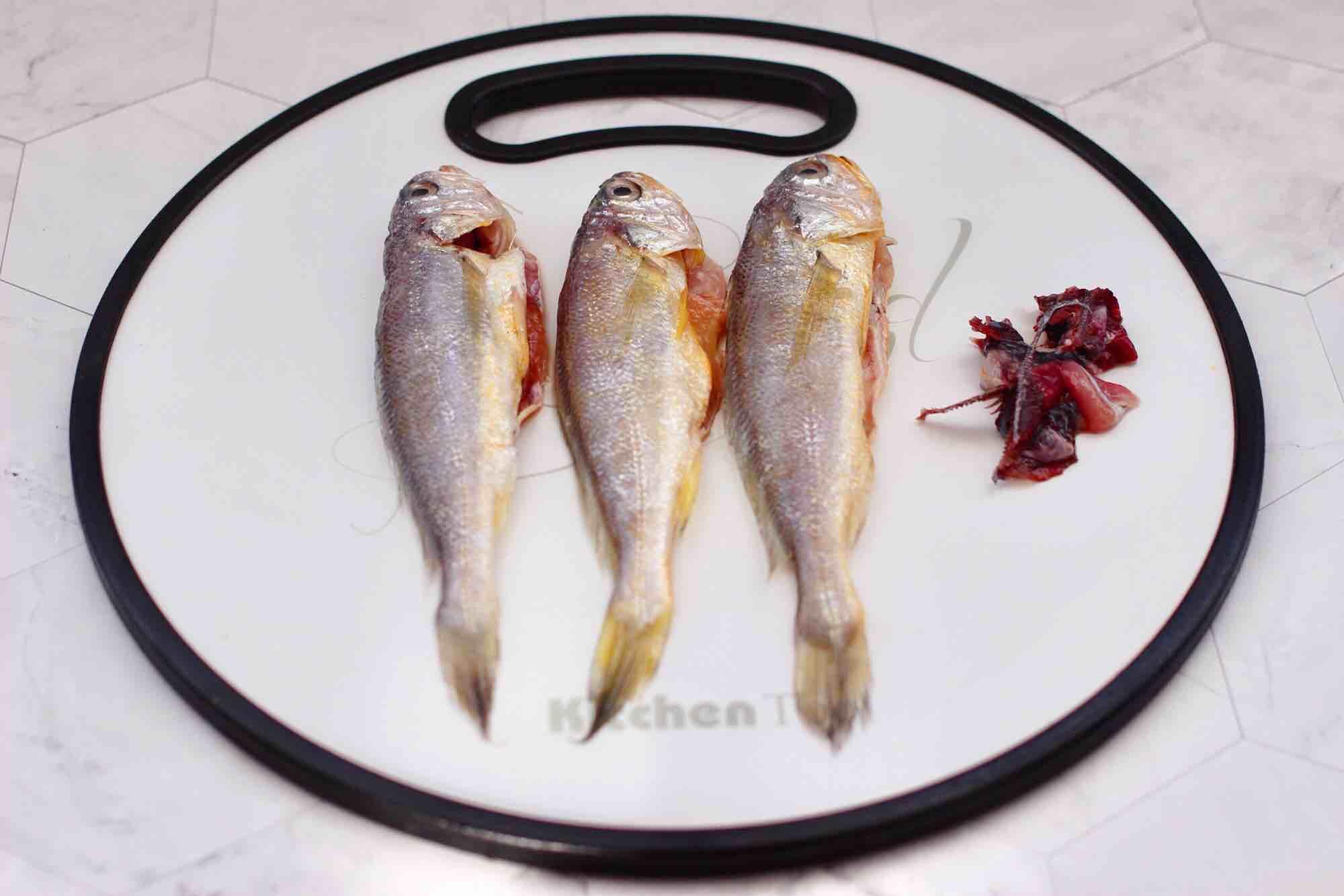 豆皮黄花鱼的家常做法