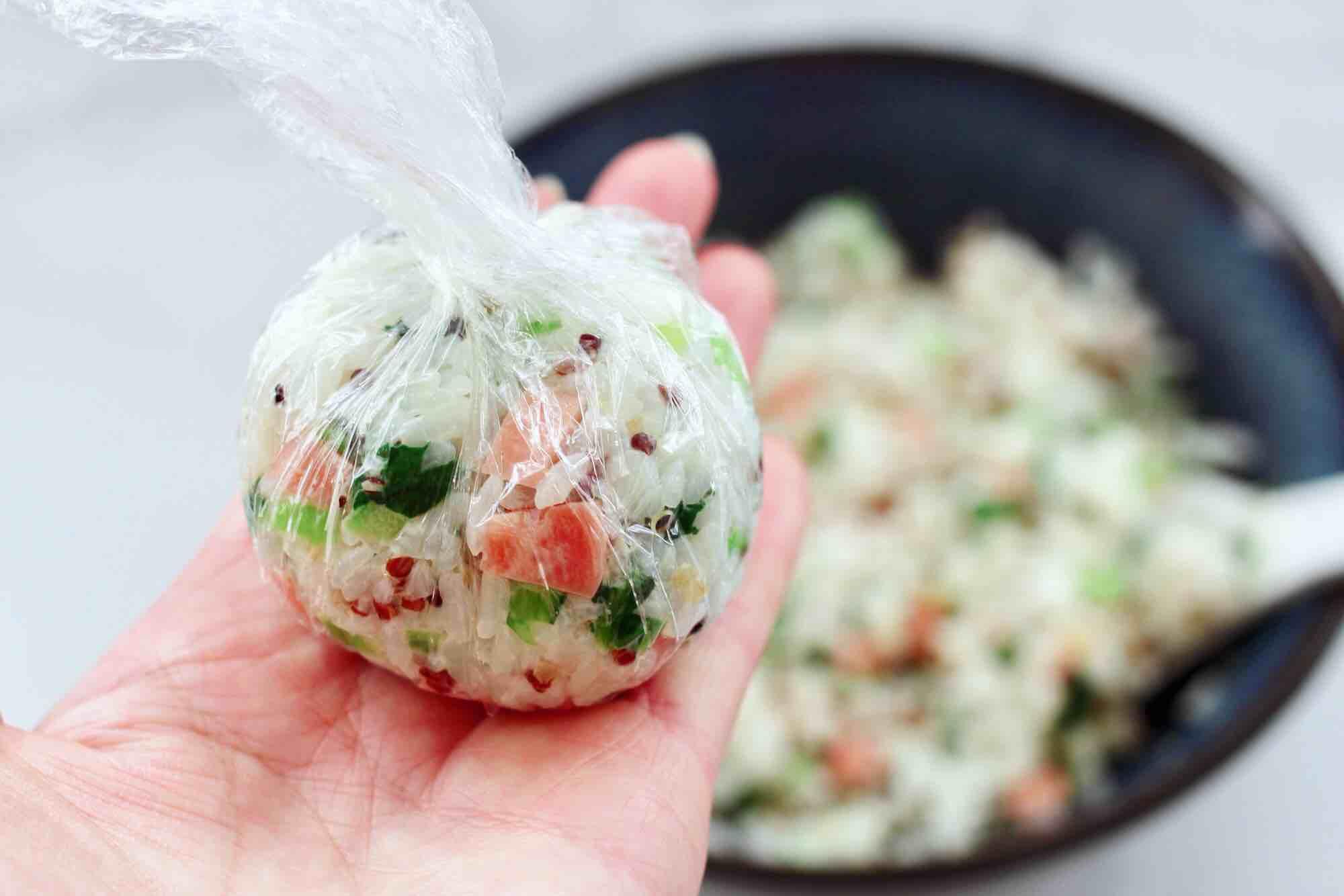 三色藜麦青菜饭团怎样煮