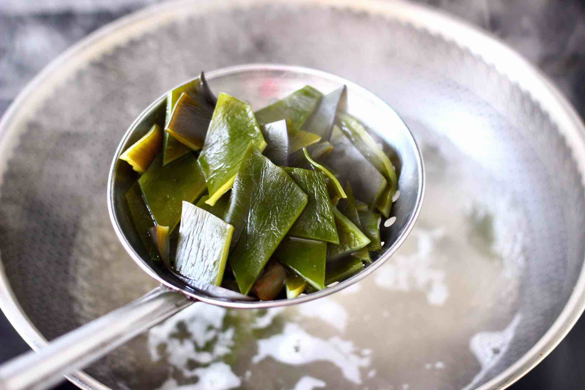海带海兔豆腐汤怎么吃