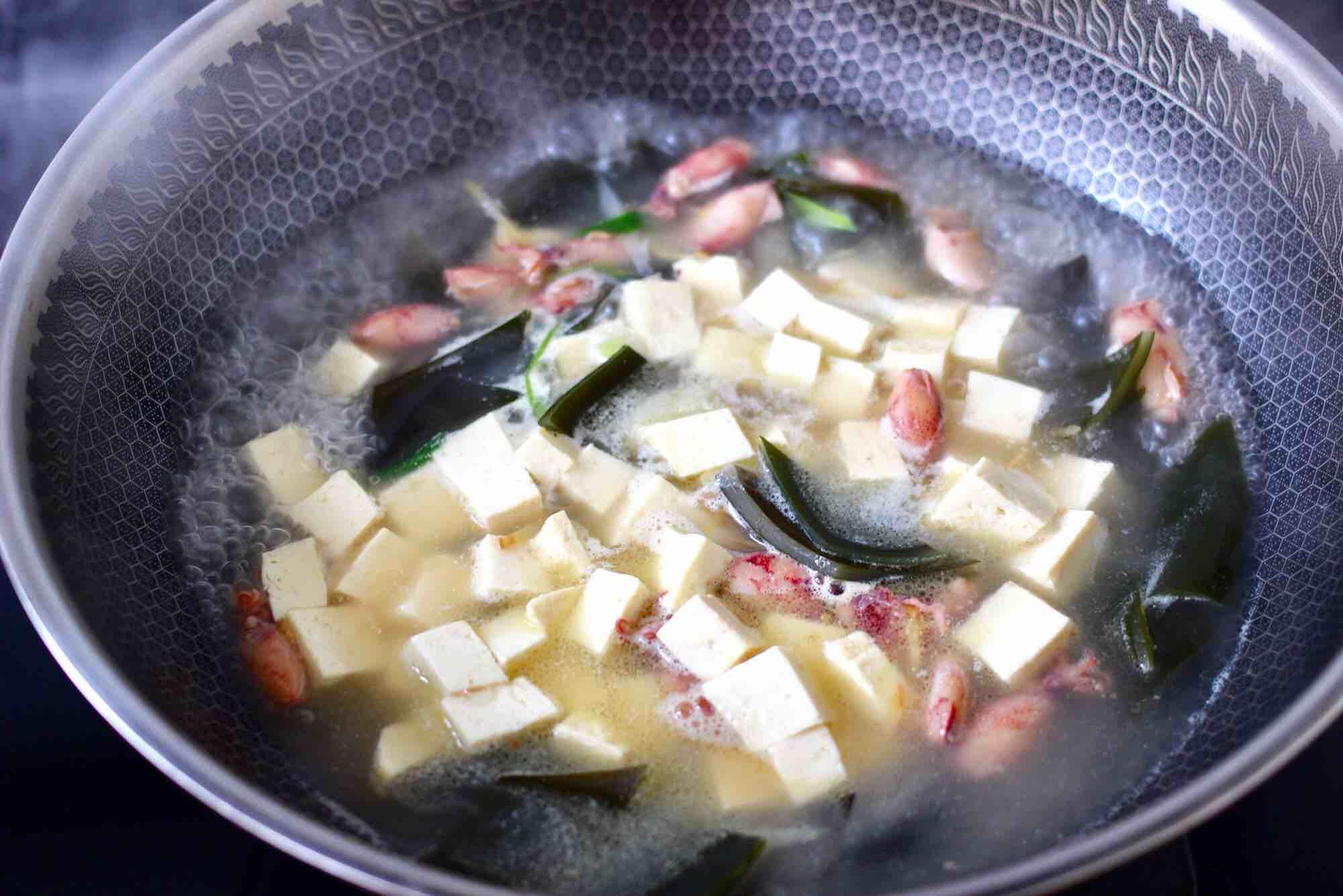 海带海兔豆腐汤怎样炒