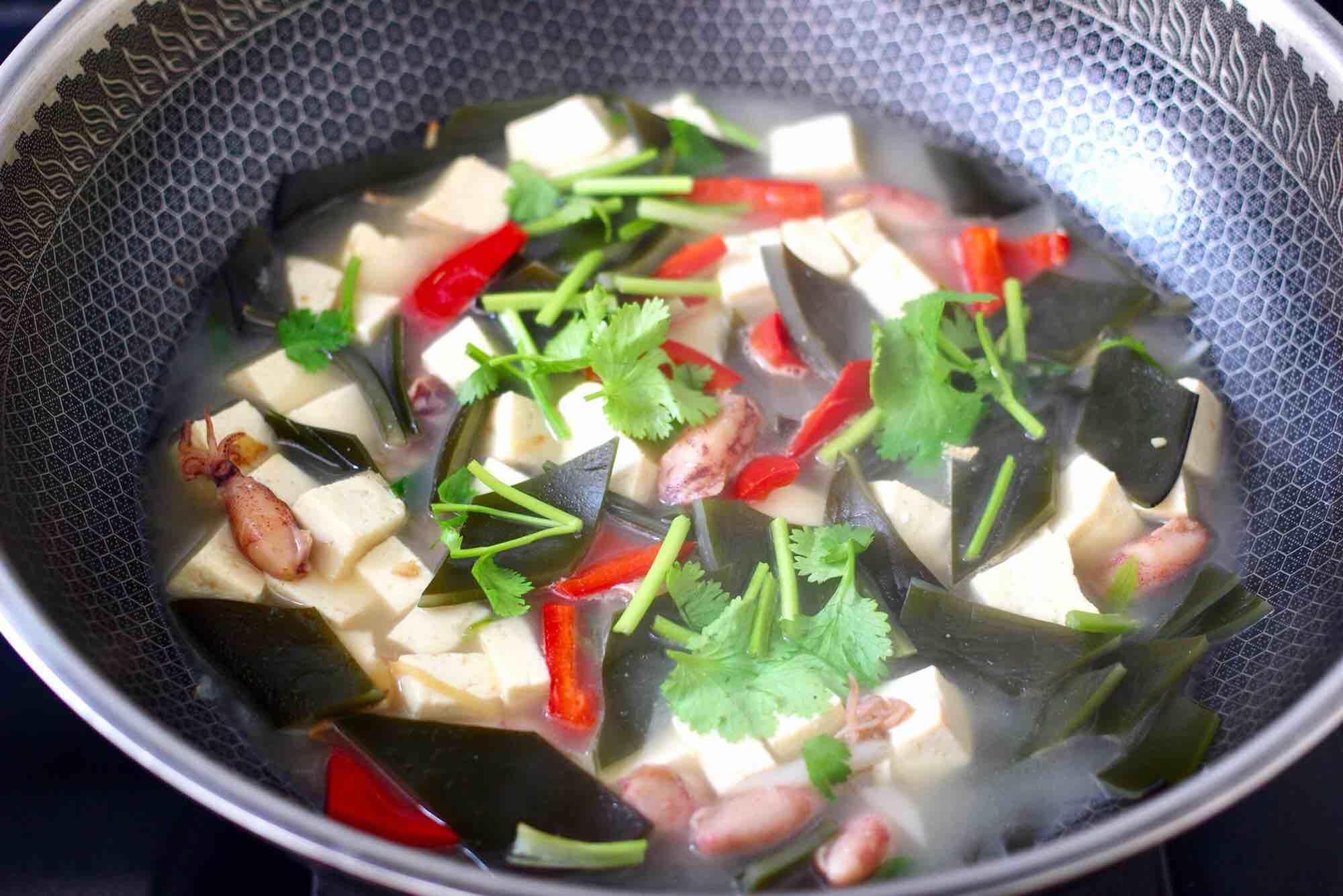 海带海兔豆腐汤怎样炖