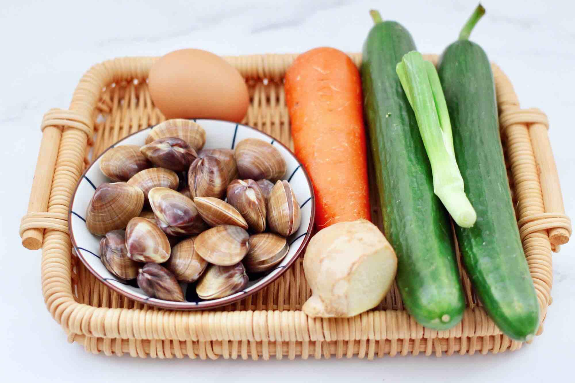 黄瓜飞蛤鸡蛋打卤面的做法大全