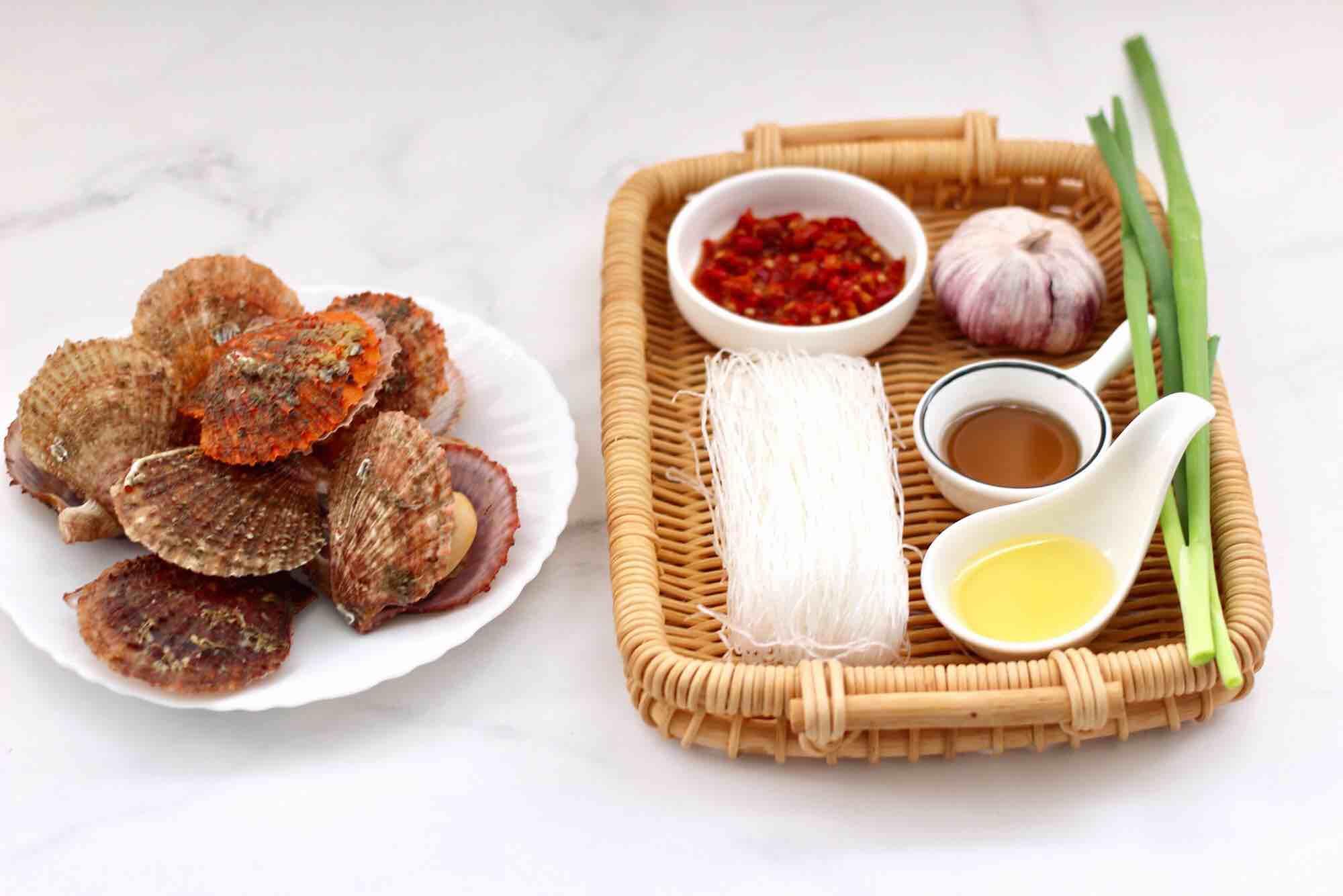 蒜蓉剁椒烤扇贝的做法大全