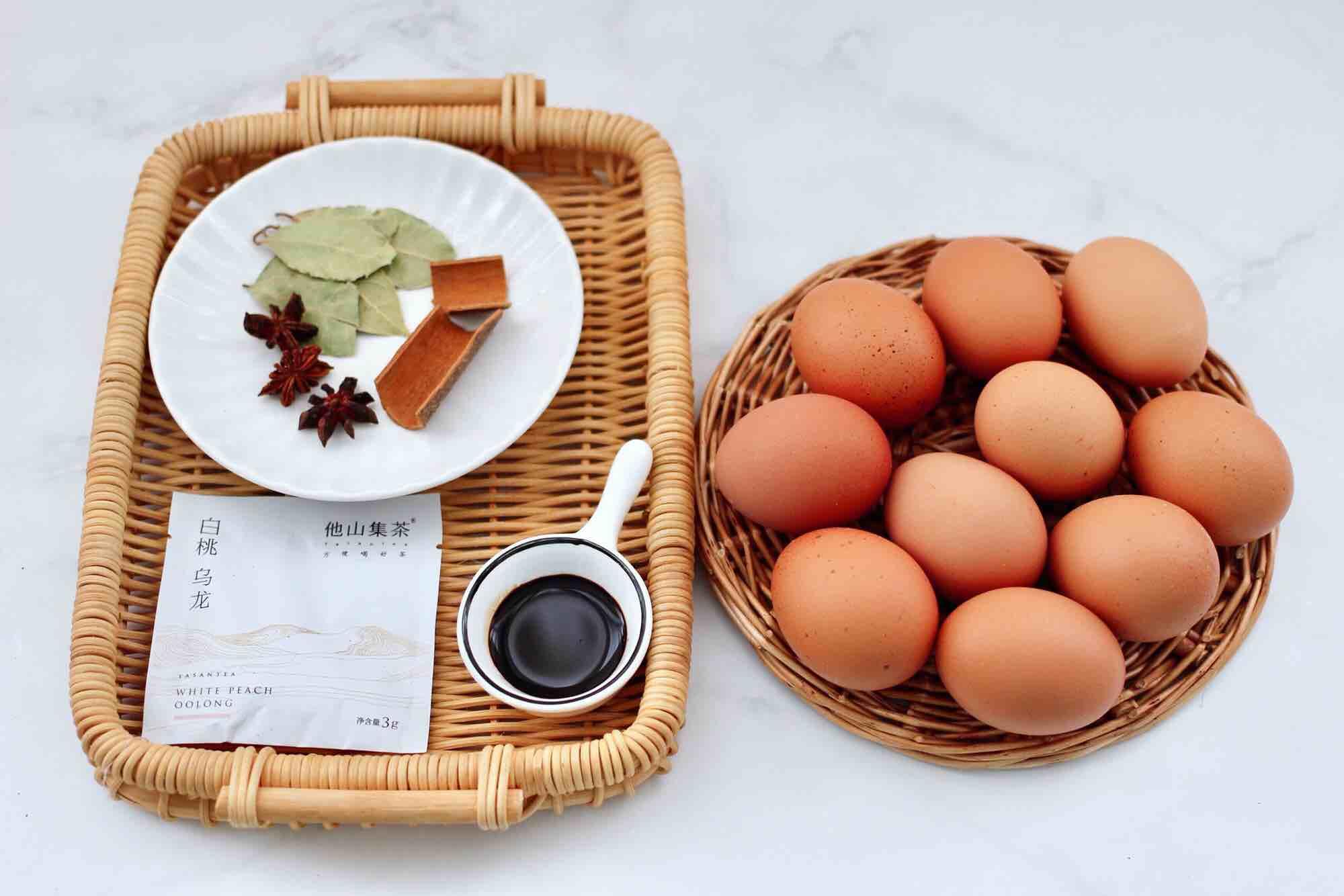 乌龙茶香卤鸡蛋的做法大全