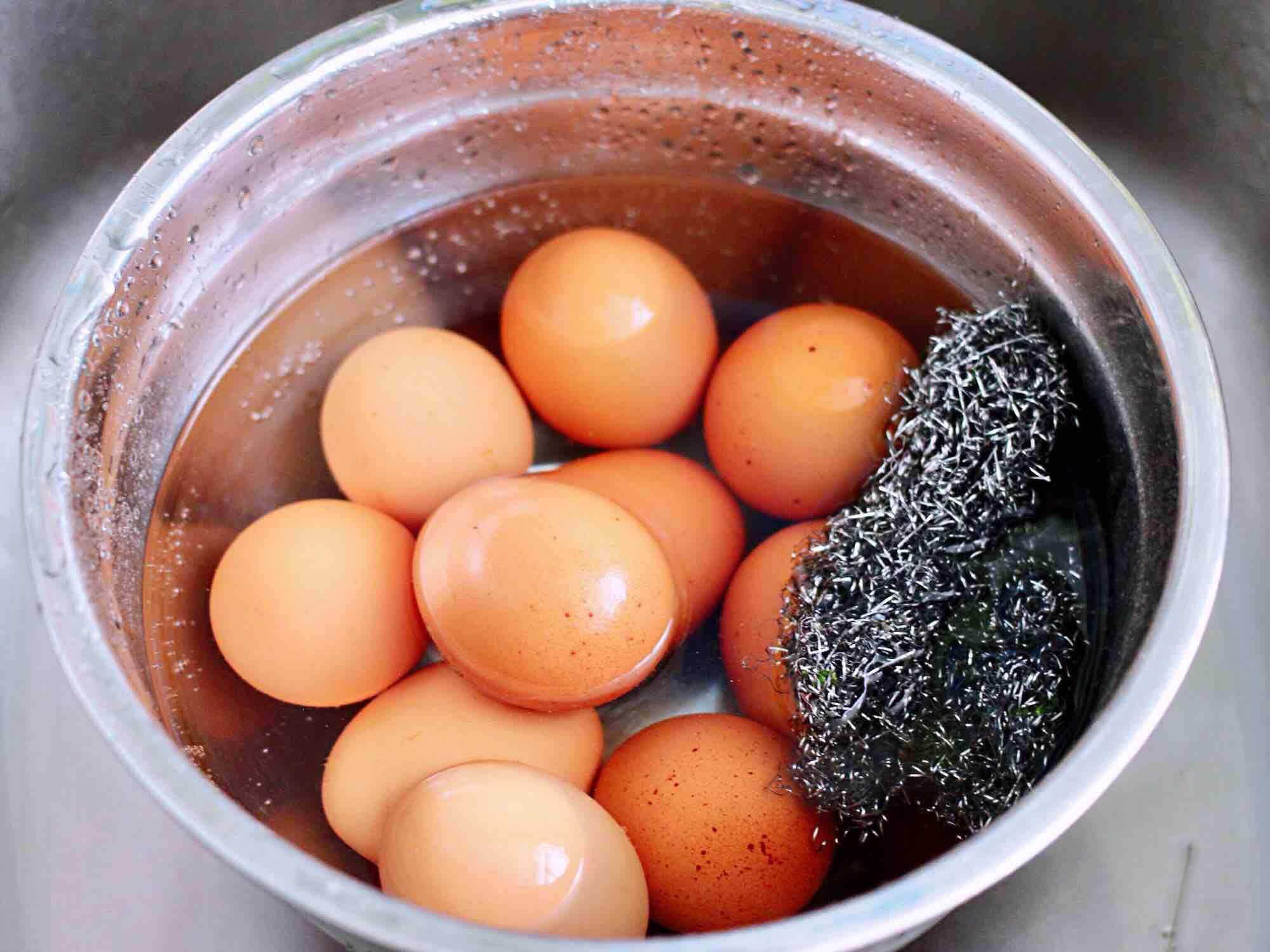 乌龙茶香卤鸡蛋的家常做法