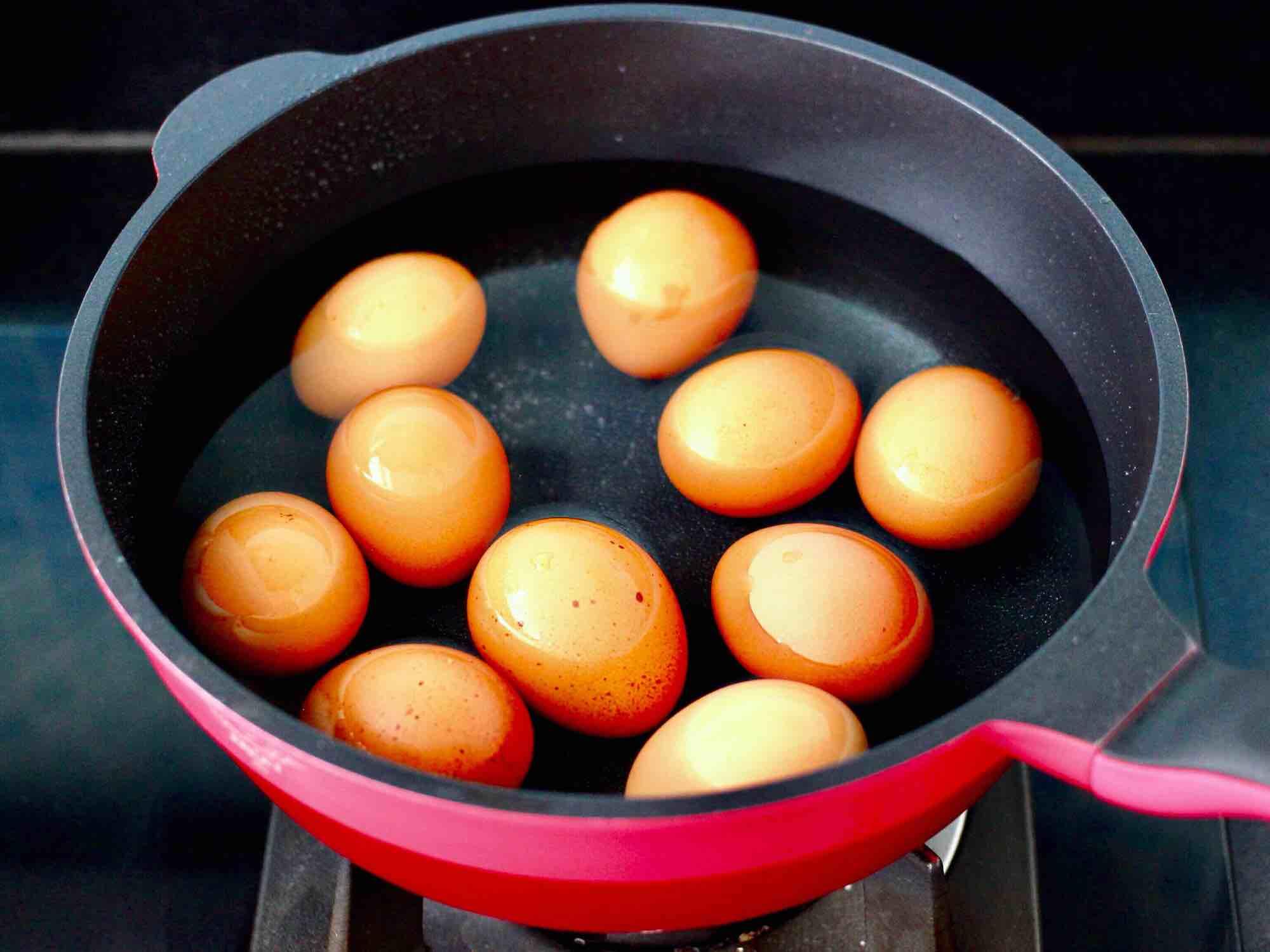 乌龙茶香卤鸡蛋的简单做法