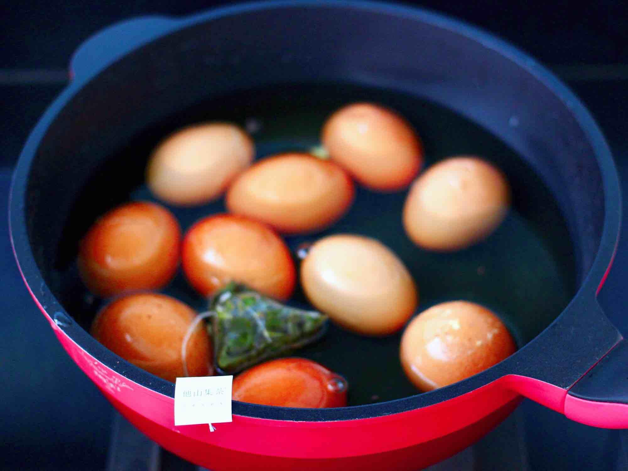 乌龙茶香卤鸡蛋怎么炒