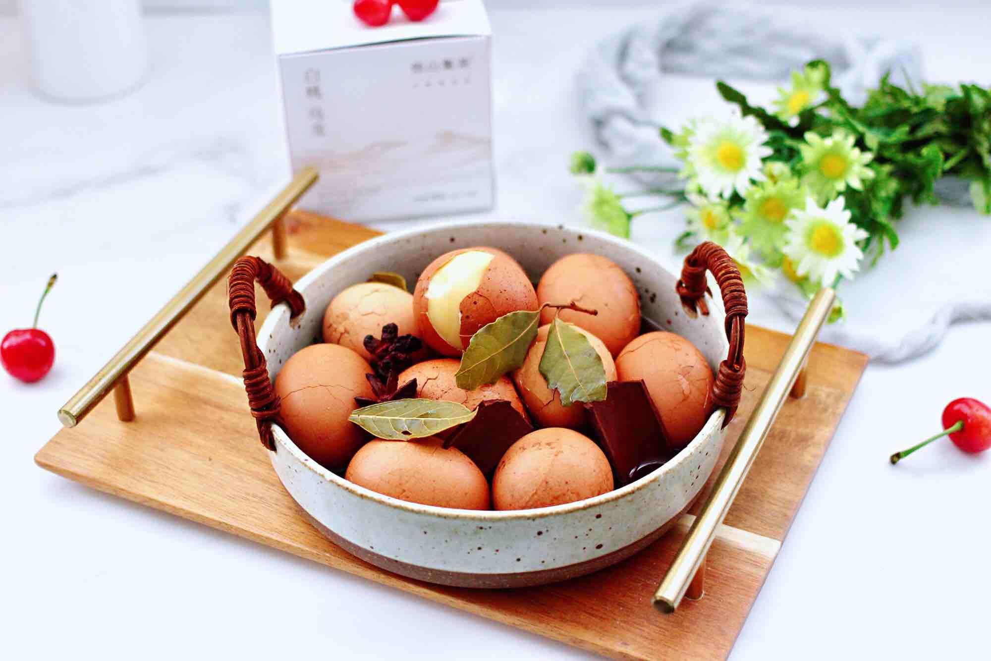 乌龙茶香卤鸡蛋怎样炒
