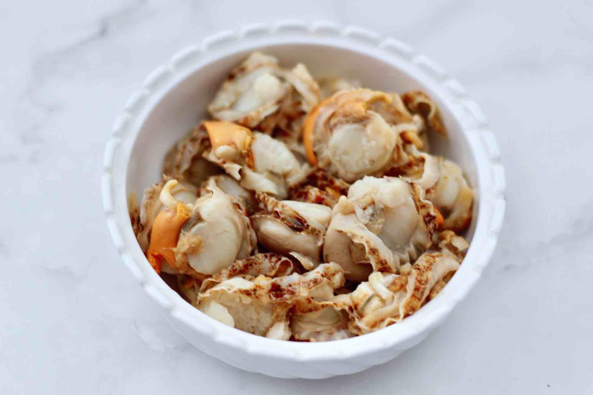 四季豆炒扇贝肉的做法图解