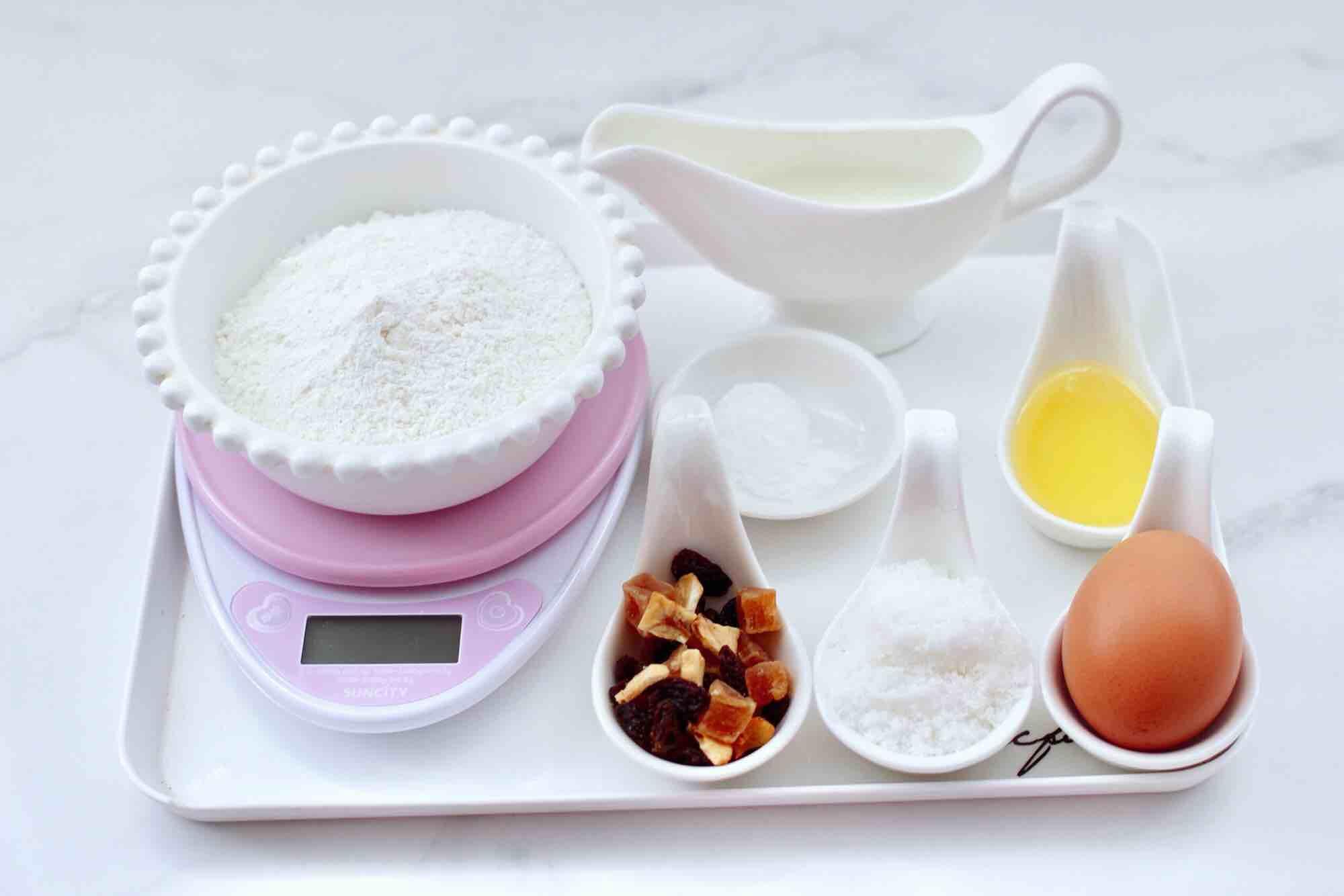 奶香水果干华夫饼的做法大全