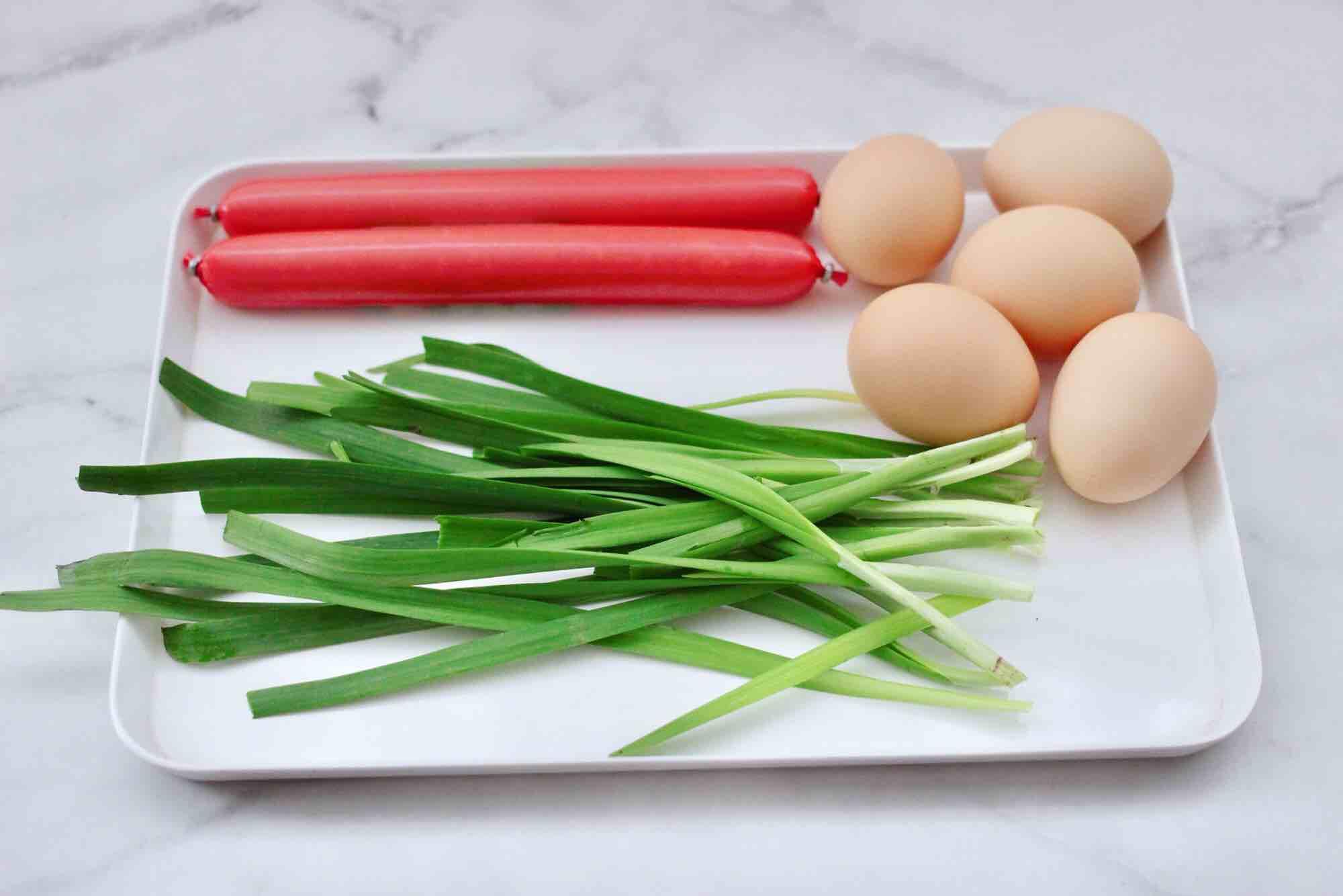 日式火腿鸡蛋卷的步骤