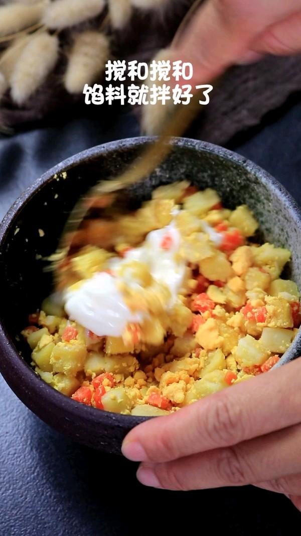 鱼糕沙拉鸡蛋杯怎么煮