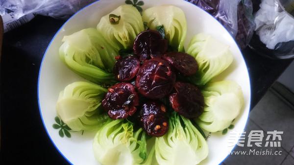香菇油菜的简单做法