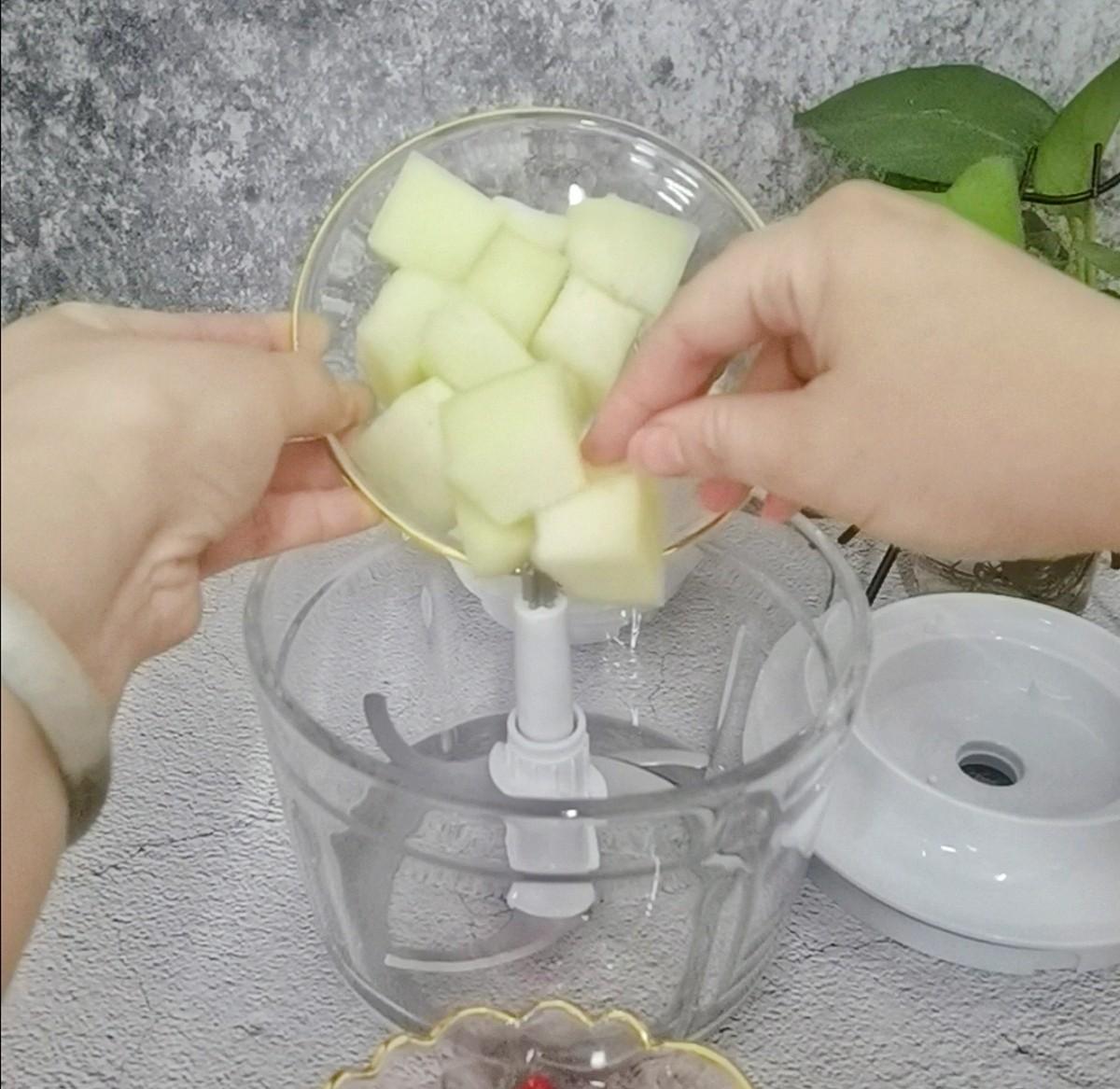 蜜瓜西红柿汁的做法图解