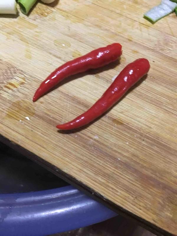 大蒜炒肉的家常做法