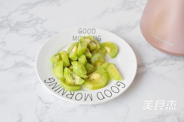 黄瓜猕猴桃汁的做法图解