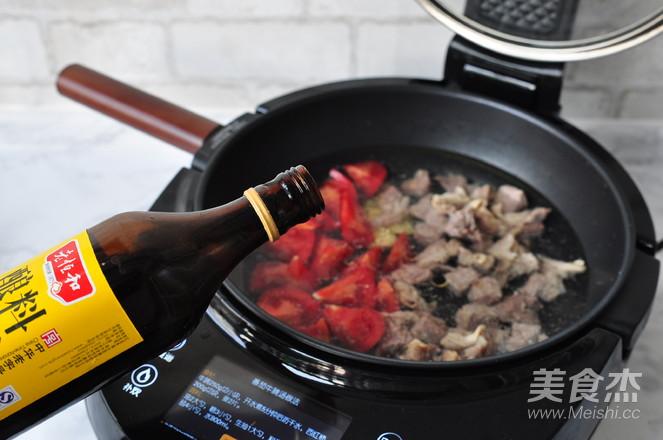 番茄牛腩汤怎么炒