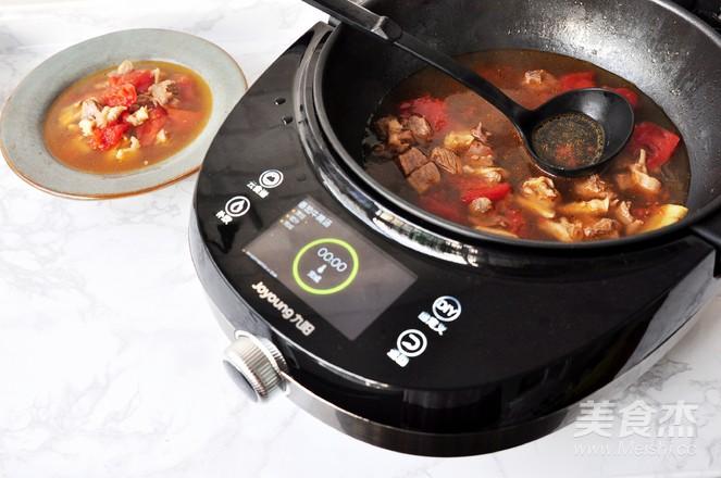 番茄牛腩汤怎样煸