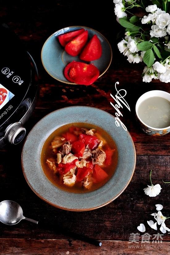 番茄牛腩汤怎样炒
