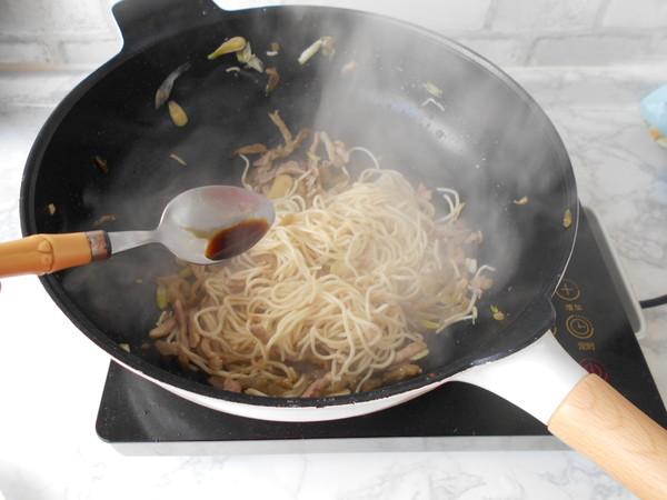 榨菜肉丝炒面怎样炖