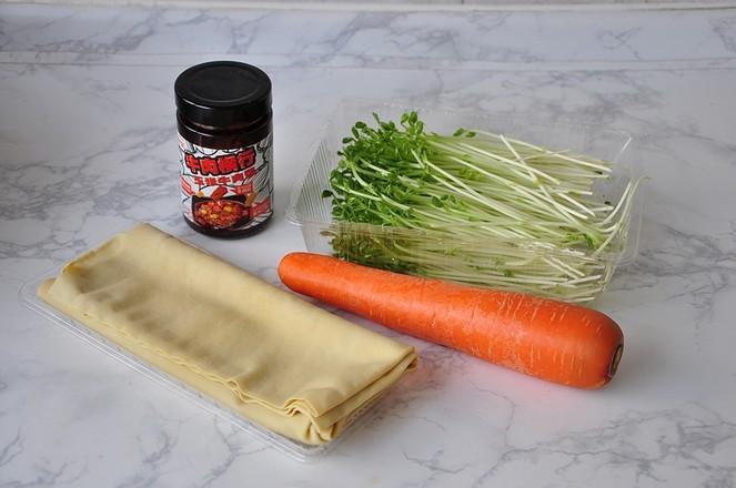 豆皮酱菜卷的做法大全