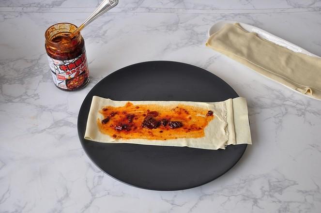 豆皮酱菜卷怎么吃