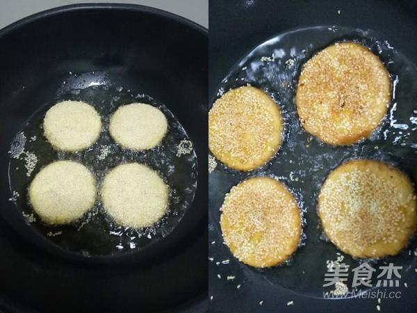 芝麻南瓜饼怎么炒