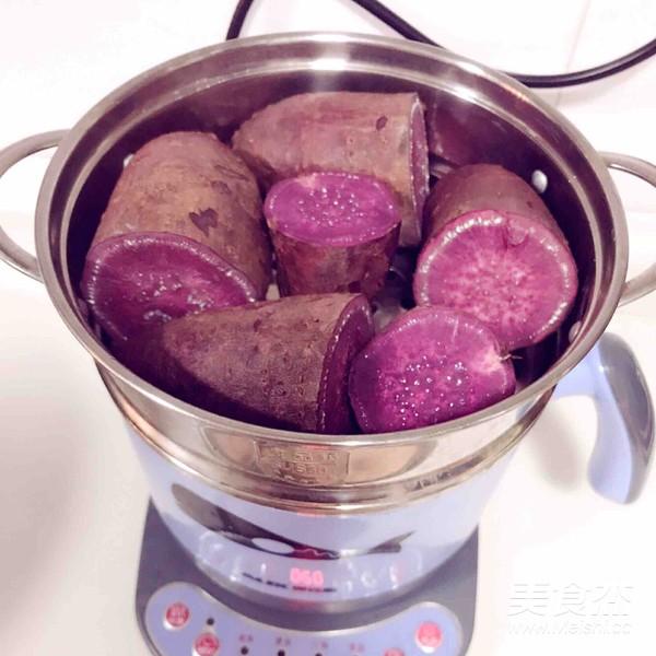 水晶紫薯糕的做法大全