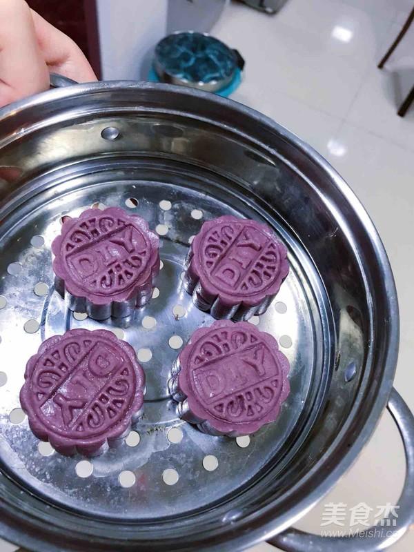 水晶紫薯糕怎么煮