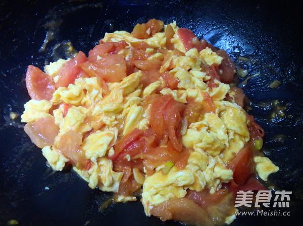 西红柿炒蛋怎么炖
