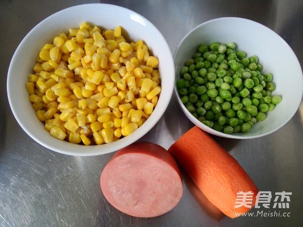 多彩玉米粒的做法大全