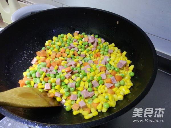 多彩玉米粒的家常做法