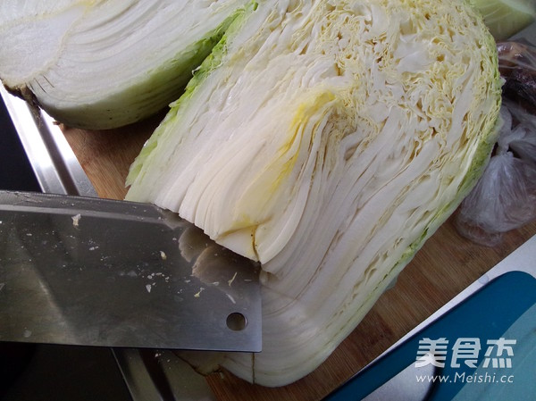 白菜心拌海蜇皮的家常做法
