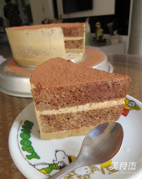 提拉米苏蛋糕成品图