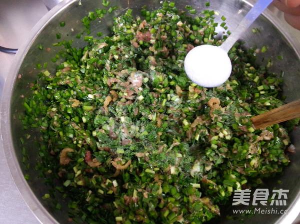 韭菜猪肉水饺怎样做