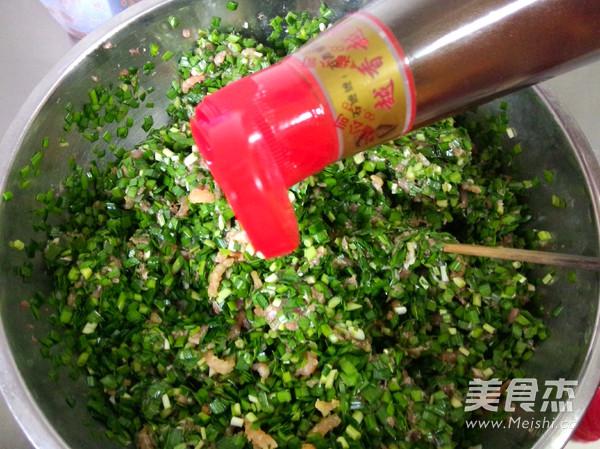 韭菜猪肉水饺怎样炒