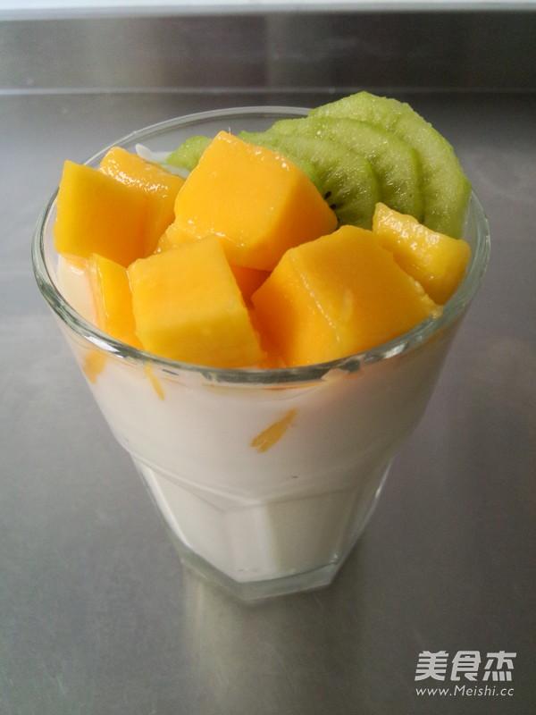 自酿水果酸奶怎样煮
